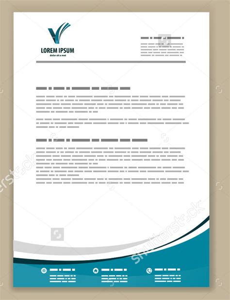 business letterheads templates psd letterhead template 51 free psd format download