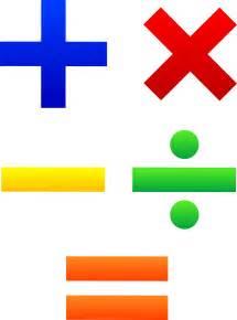 mathematical symbols set free clip