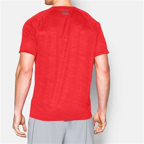 Clothing Armour Boxed Logo clothing armour boxed logo printed t shirt fitness