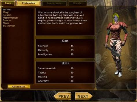 uo templates uo stratics getting started character creation
