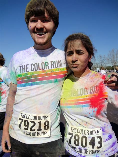 color run atlanta and nihar at the color run atlanta spatialdrift