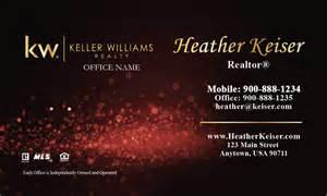 business cards keller williams keller williams business card glamorous glitter