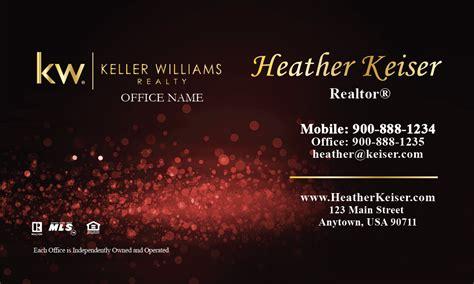 template for the back of the card keller williams keller williams business card glamorous glitter