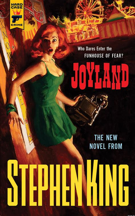 joyland by stephen king the cover huffpost