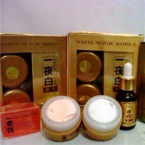 Serum Gold Korea serum magic korea whitening gold wajah bebas jerawat flek