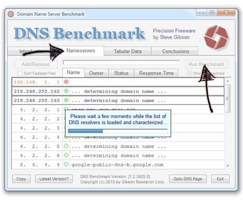 dns bench compare which dns server is best for your connection