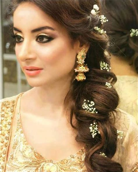 hindu bridal hairstyles   modern day bride