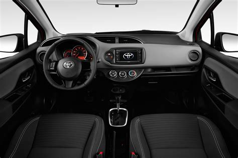 hatchback cars interior 2017 toyota yaris reviews and rating motor trend