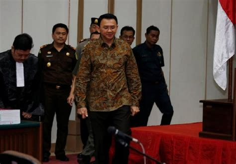 ahok election ahok leads polls ahead of jakarta runoff election