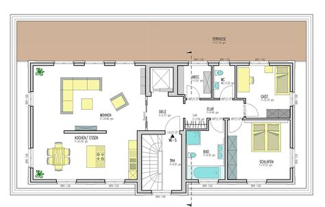 5 familienhaus grundriss duin haus 5 familienhaus kreativ bauen wohnen