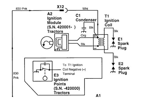 deere tractor voltage regulator wiring diagram