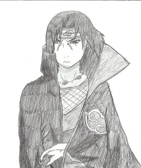 sketch book gambar itachi pencil drawing by uchiha magan on deviantart