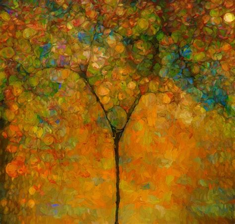 colorful trees abstract tree painting www imgkid com the image kid