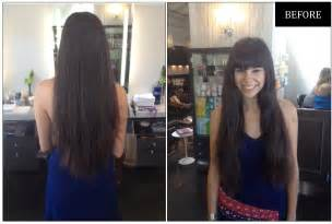 before and after hair makeovers make the cut 12 inches of hair neil george