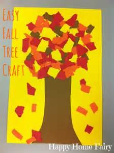 easy fall tree craft happy home fairy
