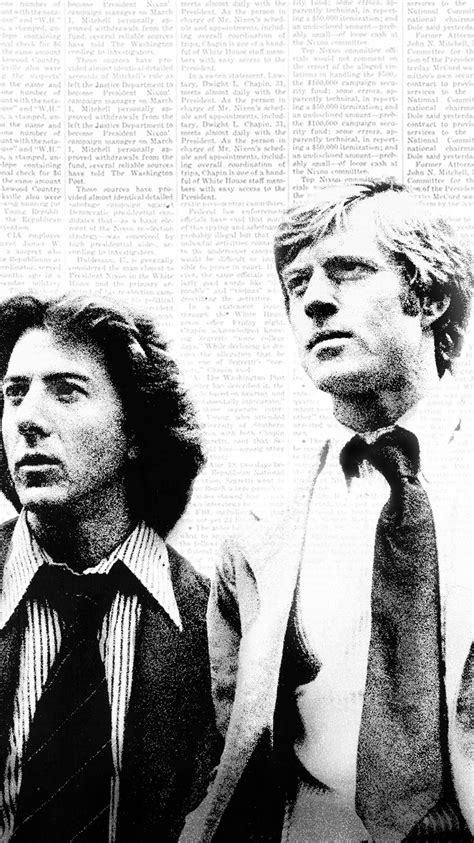 All the President's Men (1976) Phone Wallpaper | Moviemania