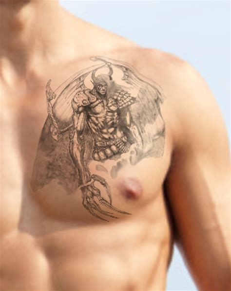 angel tattoo on the chest fabulous angel tattoo on chest tattoos book 65 000