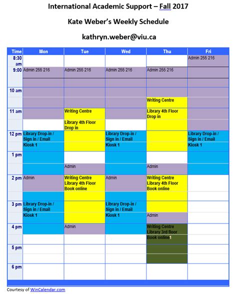 Udc Mba Schedule For Fall by Viu International Academic Support Kate Weber S Ias