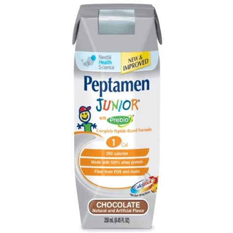peptamen junior with prebio chocolate flavor liquid 8