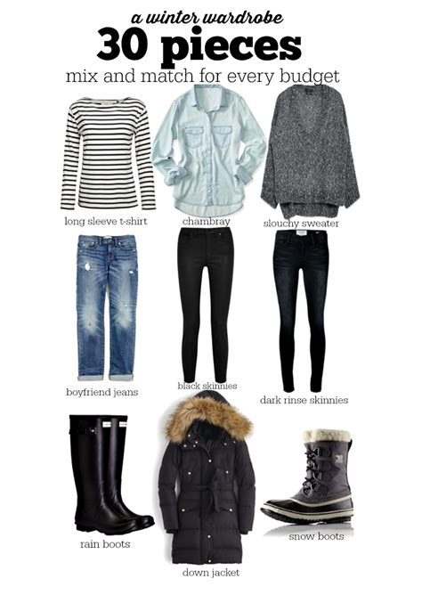 30 pieces for your winter wardrobe voigt