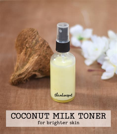 Toner Glow Glowing Skin diy coconut milk toner for bright and glowing skin