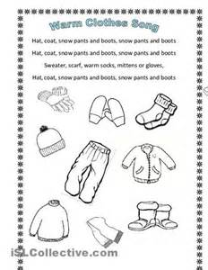 Winter clothes worksheets and printable worksheets on pinterest