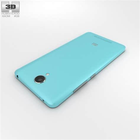 Xiaomi Redmi Note Blue xiaomi redmi note 2 blue 3d model hum3d
