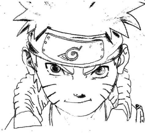 Imagenes Para Dibujar Naruto | kakashi dibujo para pintar imagui