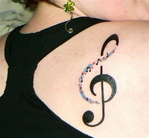 tattoo on your shoulder music 25 best ideas about music note tattoos on pinterest