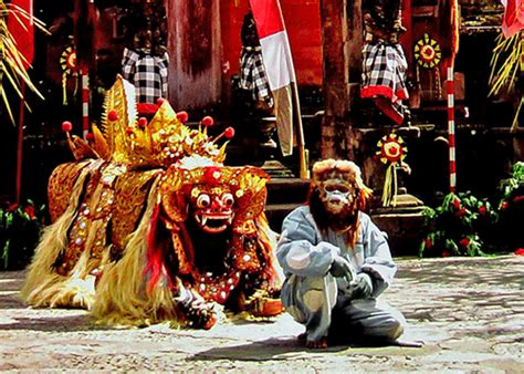 tato barong bali di punggung sejarah tarian barong di bali blog vokamo com