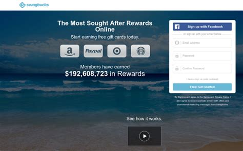 Redeeming Gift Cards For Cash California - swagbucks referral bonus get 500 points when you sign up searching shopping
