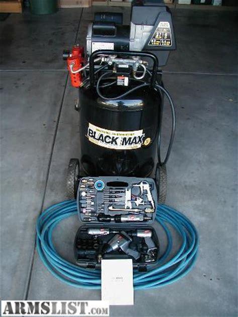 armslist for sale air compressor coleman black max