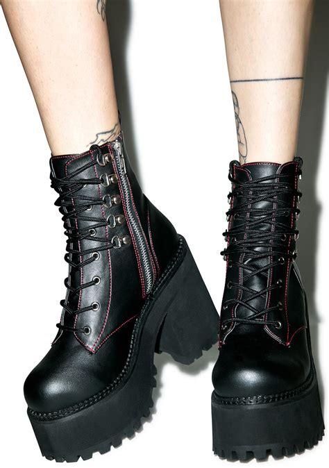 demonia boots demonia deathstalker boots dolls kill
