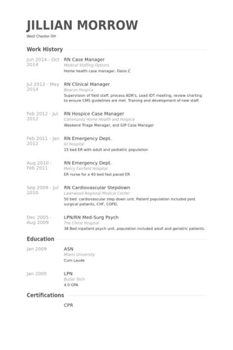 rn manager resume sles visualcv resume sles database