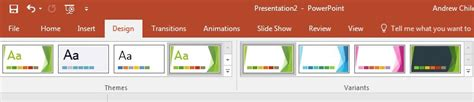 microsoft ribbon themes what is microsoft powerpoint how to start using it now