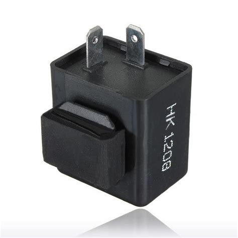 relay with a resistor 2 pin 12v motorcycle bike flasher relay resistor for led indicator us 1 69