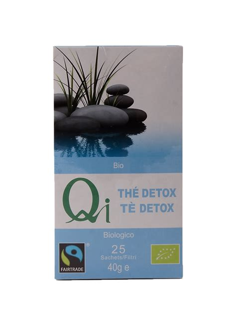 Qi Detox Tea by Qi Organic Detox Green China Tea Faithful To Nature