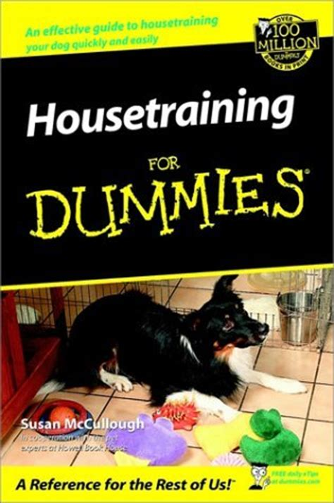puppies for dummies how to potty a