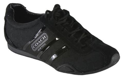 coach remonna sneaker black coach womens signature remonna black sneaker track tennis
