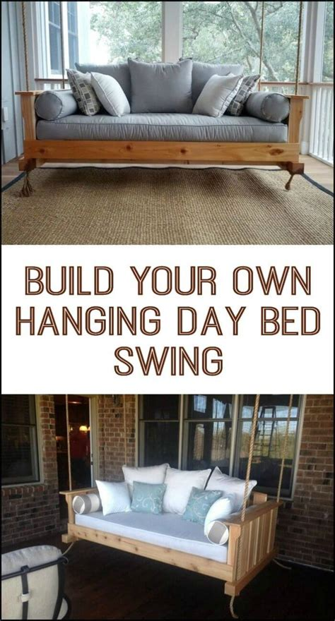 hanging day bed 21 best diy porch swing bed ideas and designs for 2018