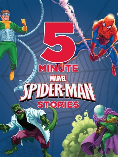 5 minute marvel stories 5 minute stories product marvel 5 minute spider stories book