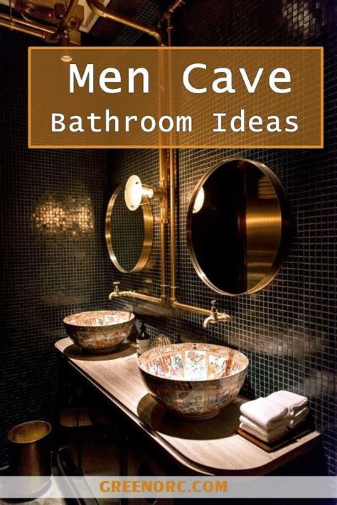 clever men cave bathroom ideas man cave bathroom