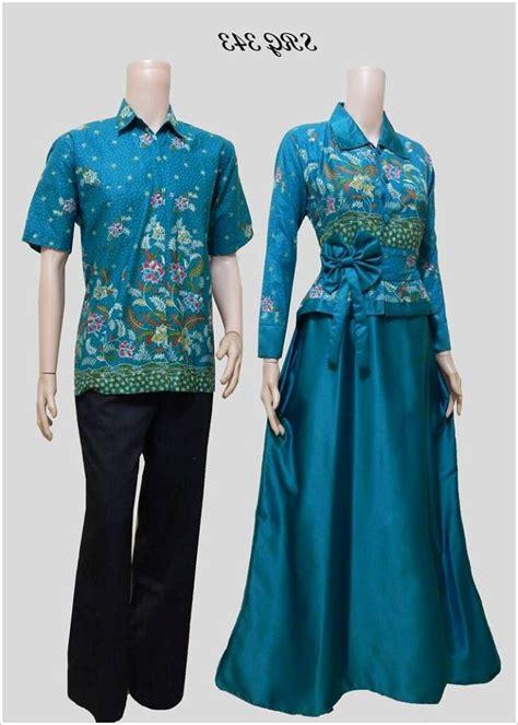 Baju Muslim Batik 20 model baju batik muslim terbaru elegan 1000