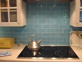 sky blue glass subway tile modwalls lush 3x6 modern tile
