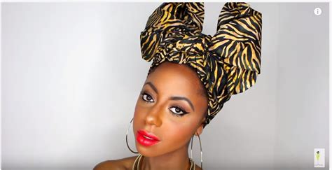 3 quick and easy head wrap styles for bad hair days 4 quick easy artistic ways to tie african head wrap styles