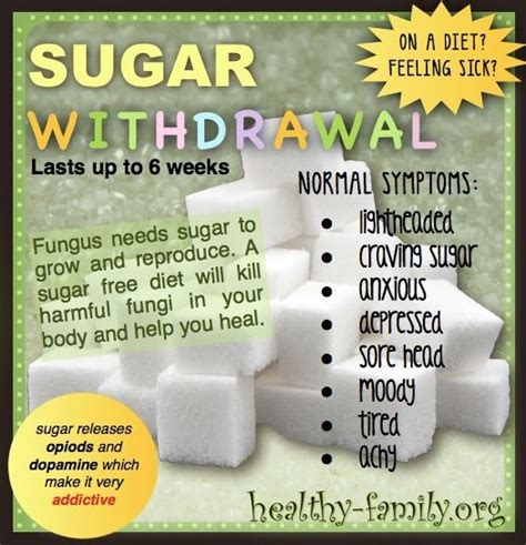 Withdrawal Detox Diet by On A Diet Feeling Sick Learn The Reasons Why Sugar