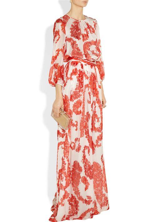 giambattista valli printed skirt in lyst