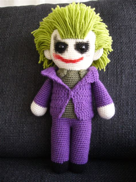 amigurumi joker pattern the joker by femjo on deviantart