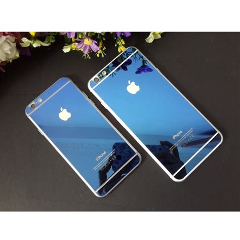 Tempered Glass Jakarta tempered glass and phone for iphone 6 blue jakartanotebook