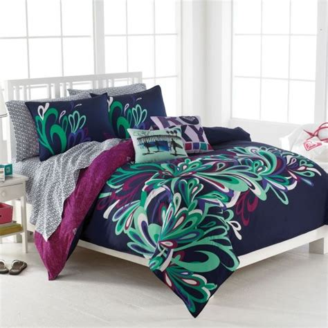 teen girl bed in a bag teen bedding sets for girls twin xl roxy bedding